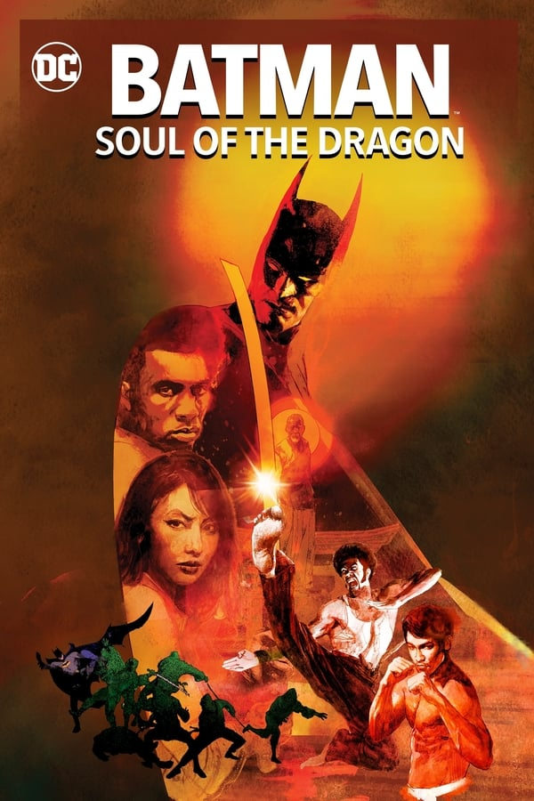 Batman Soul of the Dragon English